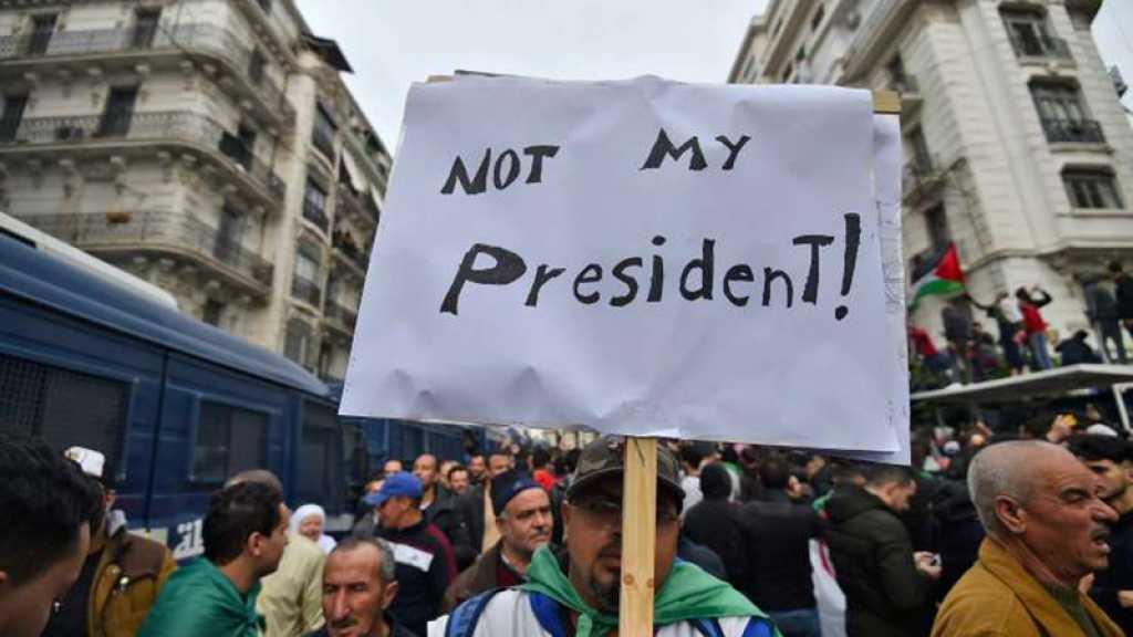 Une marée humaine a envahi le centre d'Alger conspuant l'élection de Tebboune
