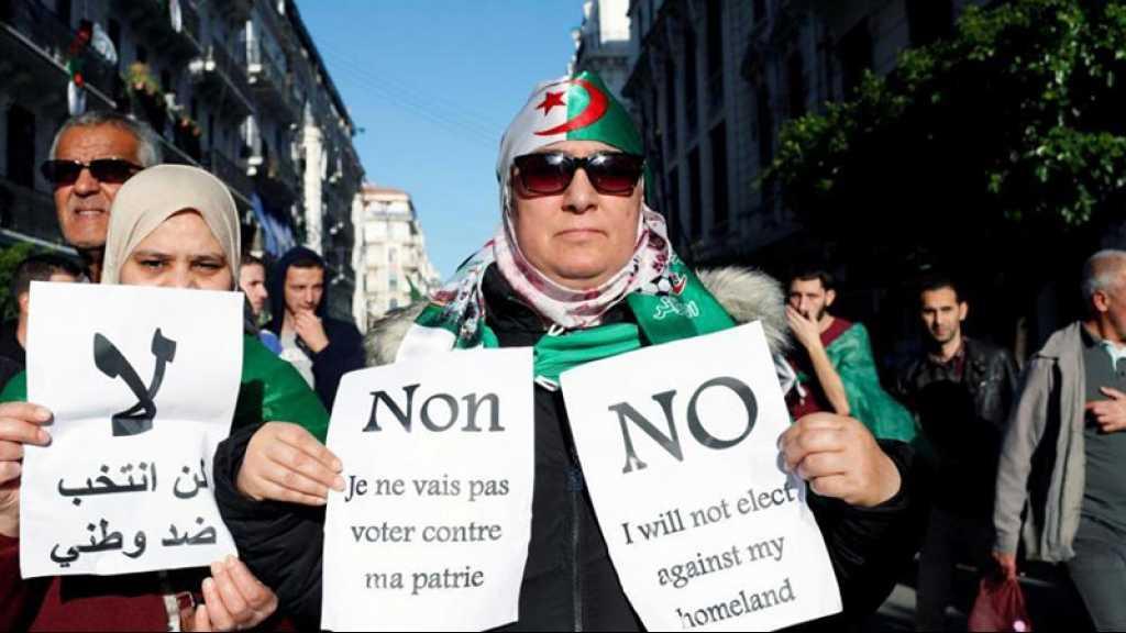 Présidentielle en Algérie: une coalition d'opposition dénonce un «coup de force»