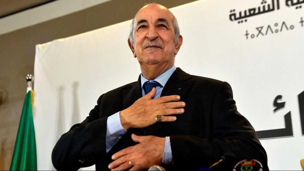Algérie: Abdelmadjid Tebboune, président élu, prêtera serment jeudi