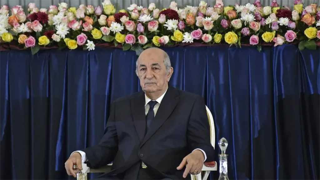 Algérie: le nouveau président Tebboune a prêté serment et entre en fonction