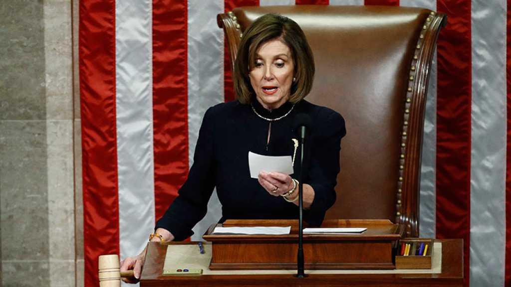 Destitution: le bras de fer continue entre Pelosi et le Sénat