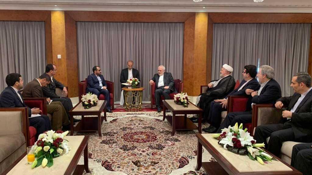 Rencontre entre le ministre iranien des AE et le porte-parole d'Ansarullah à Oman