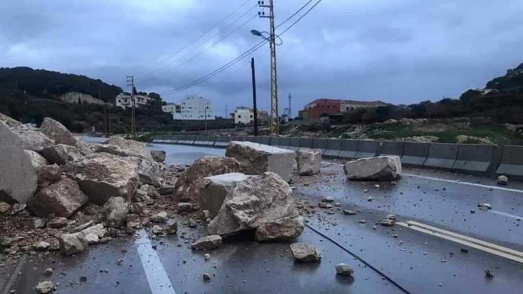 La tempête Loulou au Liban: six morts dans des accidents, de nombreux dégâts