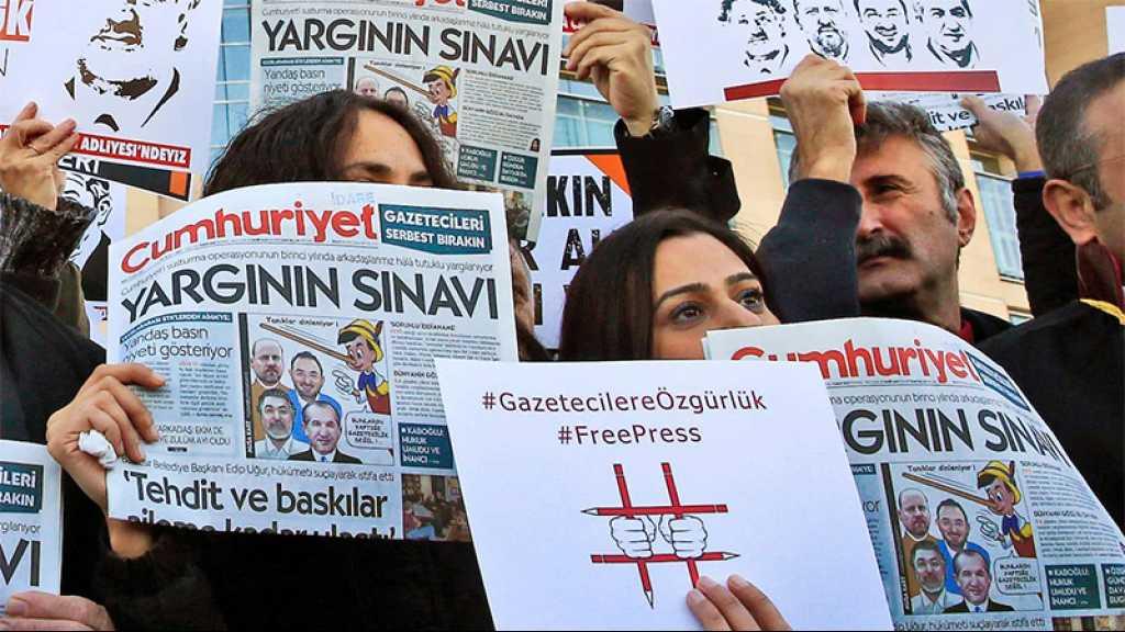 Turquie: des journalistes d'opposition condamnés à de la prison