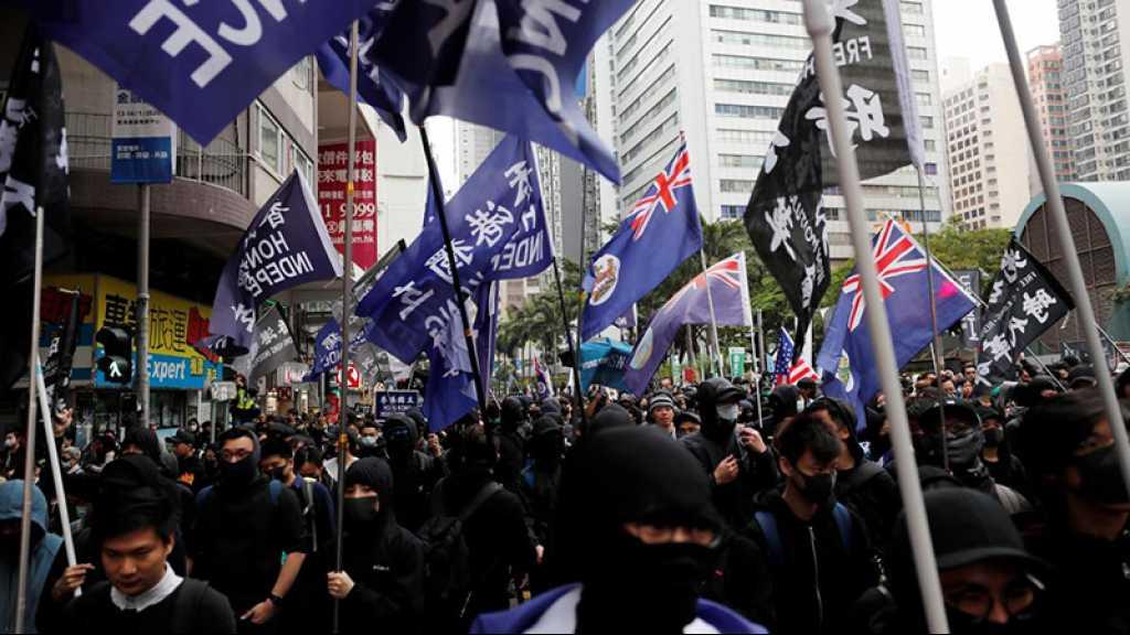 Première manifestation de 2020 à Hong Kong, 400 arrestations