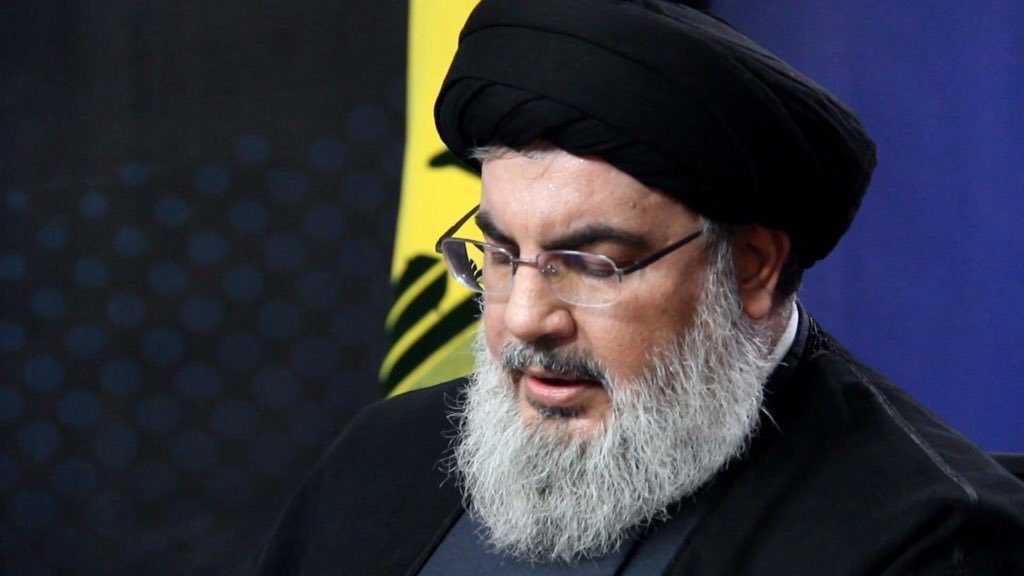 Sayed Nasrallah sur l'assassinat d'Al-Mouhandes: Le peuple irakien et ses factions de résistance prouveront leur grande fidélité à ces chefs martyrs