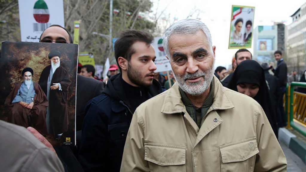 Les mouvements palestiniens de résistance condamnent l'assassinat du général Soleimani