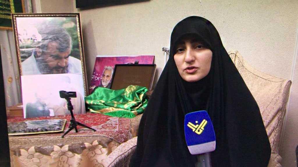 Zeinab Qassem Soleimani: Je sais bien que sayed Nasrallah vengera mon père