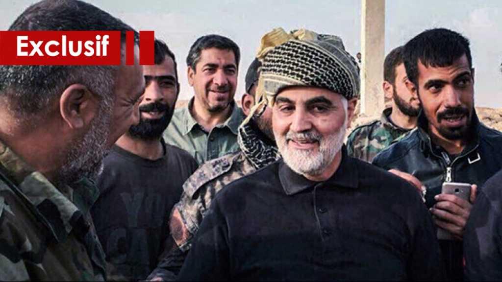 Une semaine en compagnie du général Soleimani sur le front
