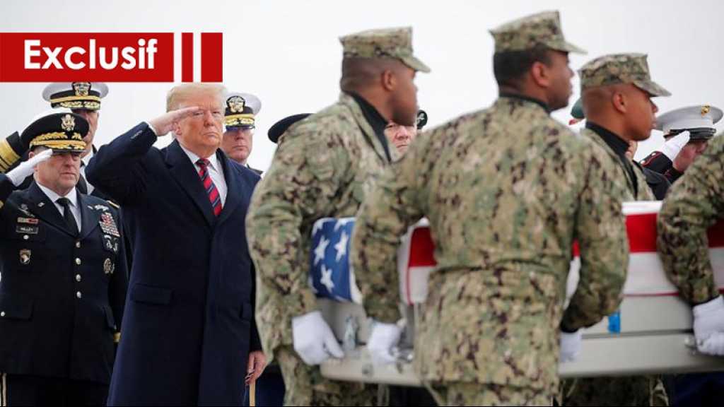 Trump joue avec idiotie du sang des Américains