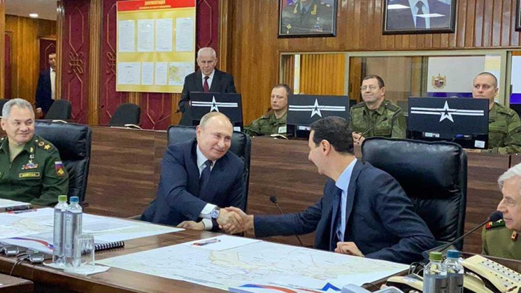 Poutine en Syrie, dans une visite surprise