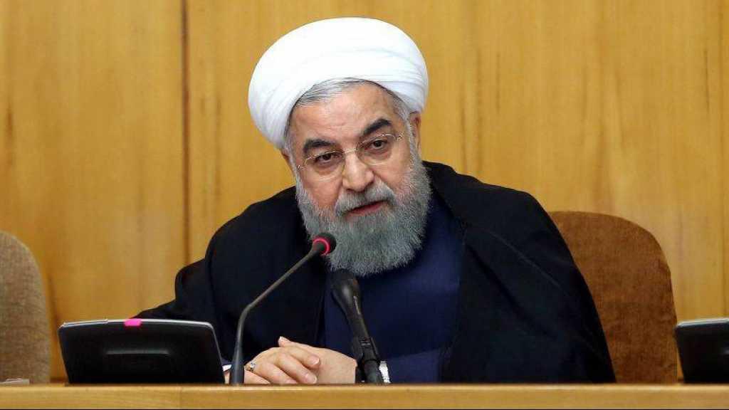 L'Iran «coupera la jambe» des Américains au Moyen-Orient, menace Rohani