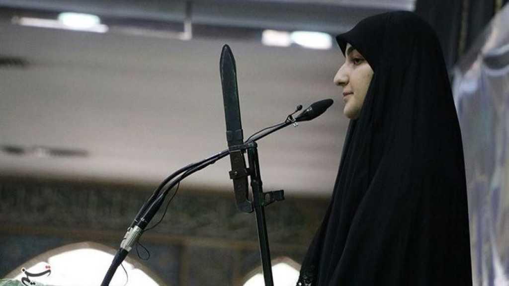 Zeinab Soleimani: Des milliers Qassem Soleimani sont prêts à venger de la maison blanche