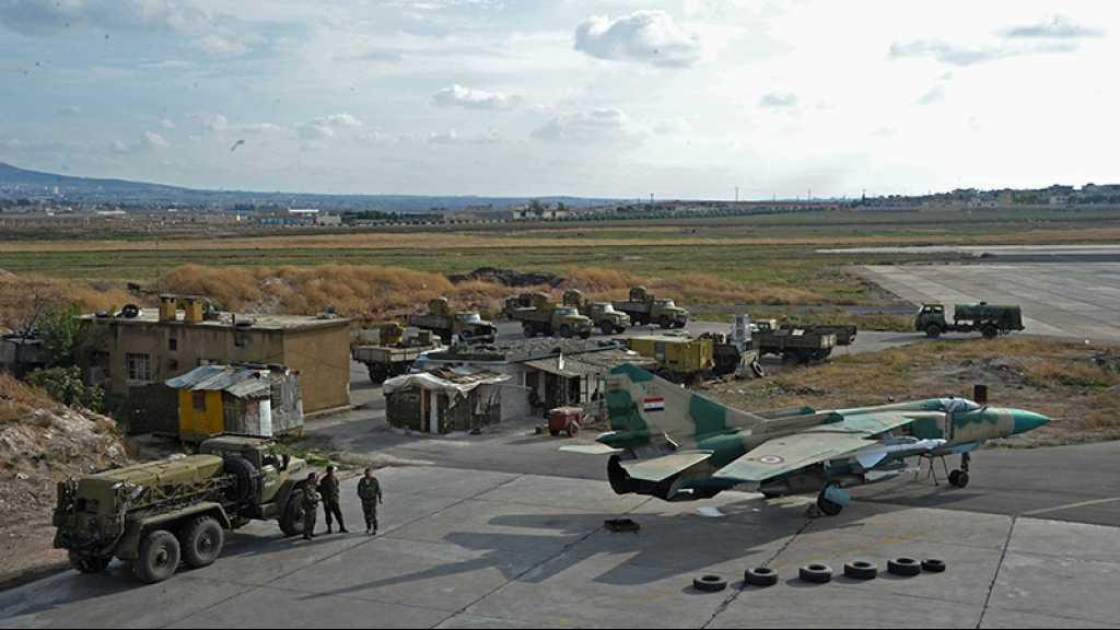 Syrie: la défense antiaérienne repousse une agression israélienne contre un aéroport militaire