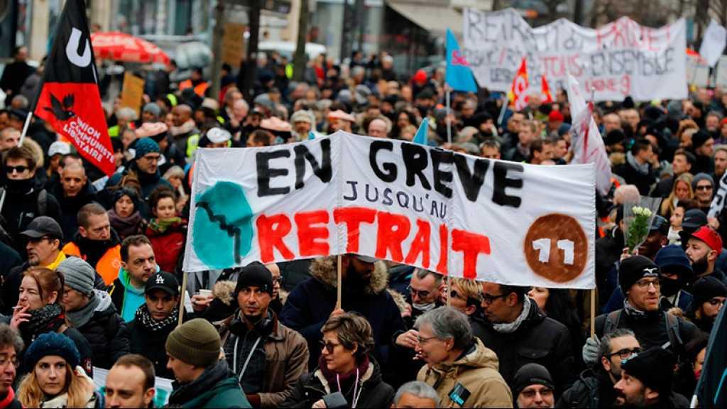 Réforme des retraites: nouvelle manifestation à Paris pour «faire céder» le gouvernement