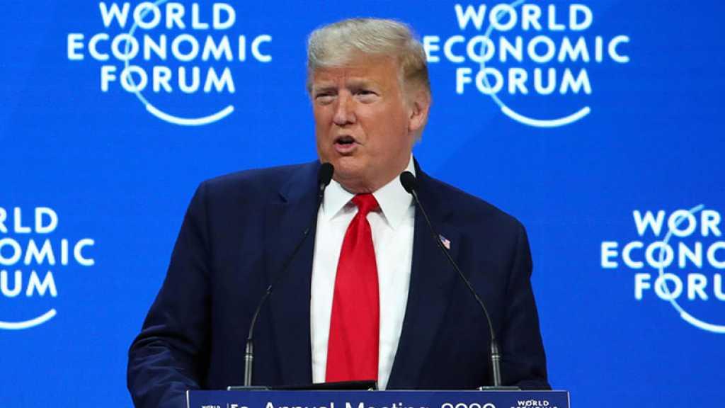 À Davos, Donald Trump balaie la question climatique