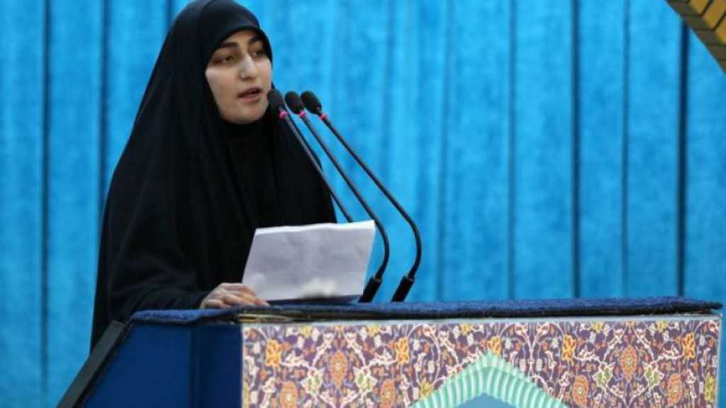 Zeinab Soleimani du Liban: les martyrs du Hezbollah et de l'Iran ont sauvegardé l'islam
