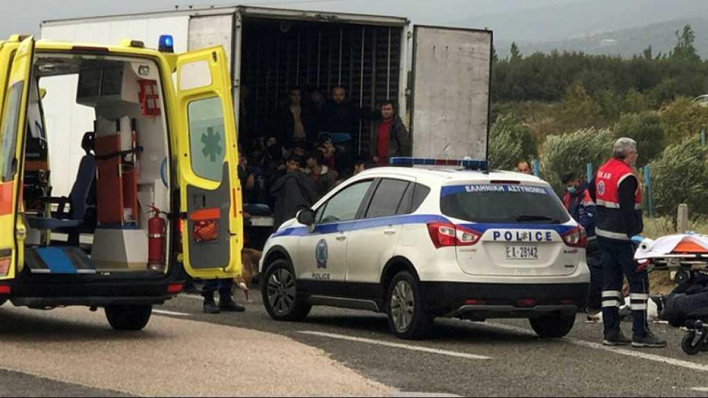 Belgique: 23 migrants découverts dans un camion frigorifique à Zeebruges