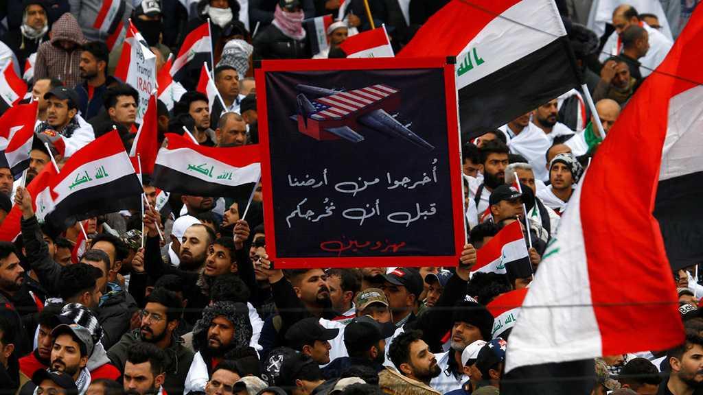 Manifestation monstre à Bagdad, aux militaires US: quittez l'Irak, sinon votre destin sera la mort