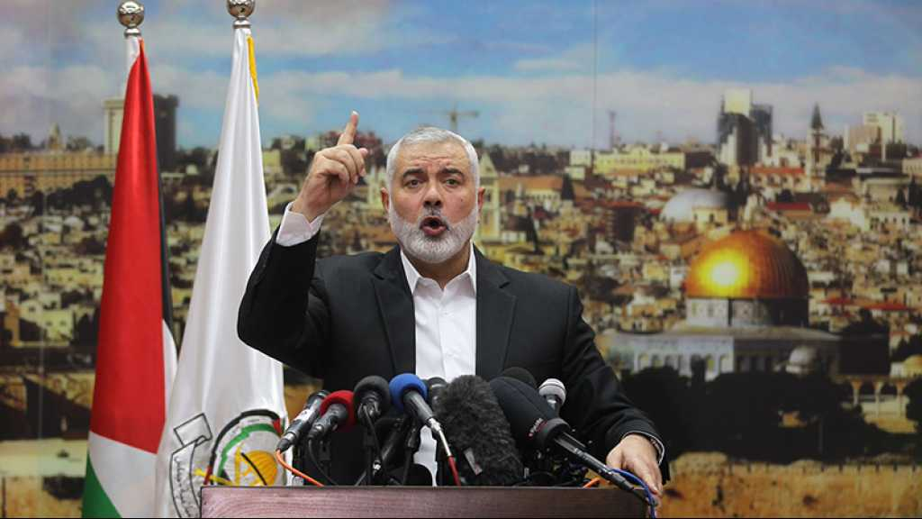 «L'accord du siècle de Trump ne passera pas», avertit le chef du Hamas