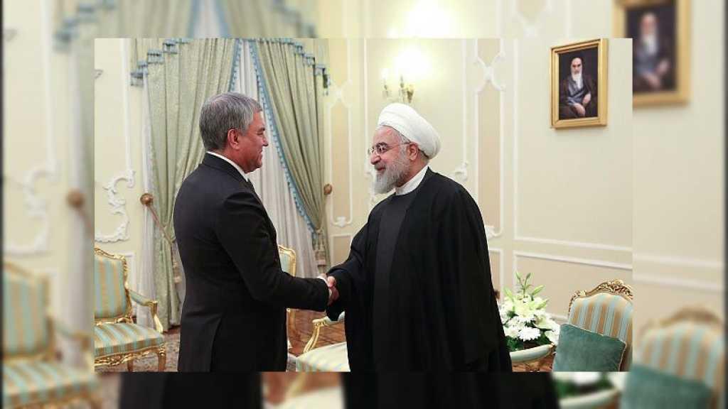 Contrairement au souhait de Washington, Les relations irano-russes sont sur la bonne voie