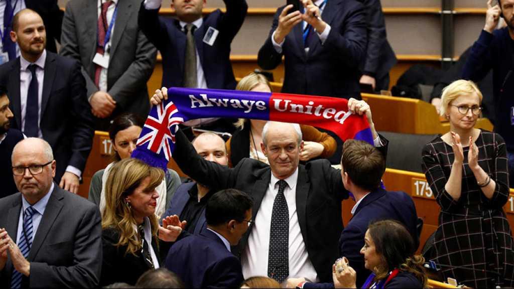 Le Parlement européen ratifie à une très large majorité l'accord sur le Brexit
