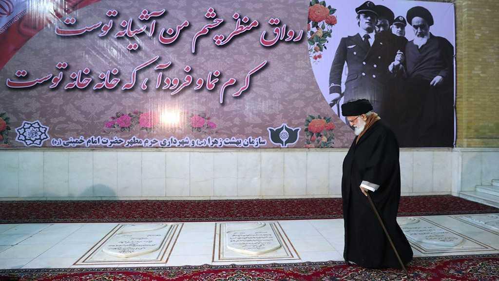 Les célébrations de la décade de l'aube débutent en Iran: sayed Khamenei visite le mausolée de l'imam Khomeiny
