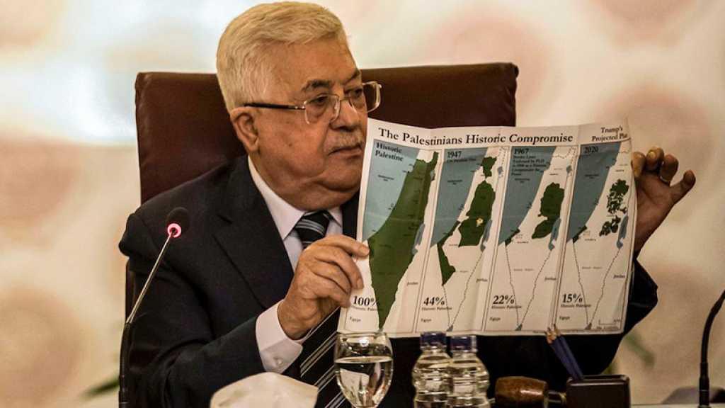 «Deal du siècle»: Abbas annonce une rupture de «toutes les relations» avec «Israël» et les USA