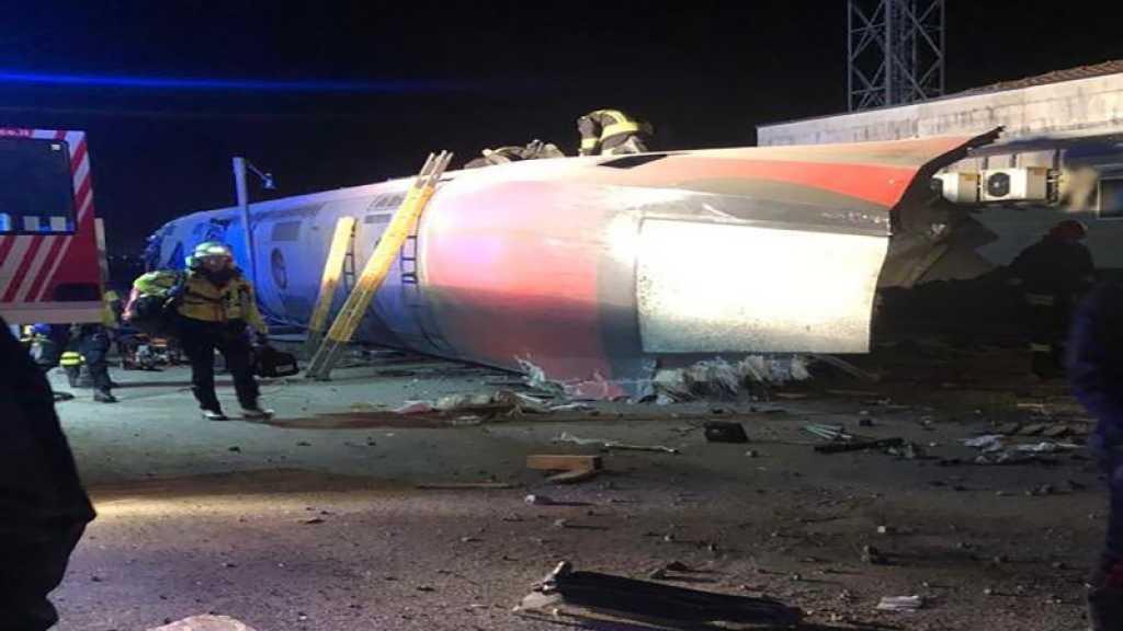 Un train à grande vitesse déraille en Italie, deux morts et des dizaines de blessés