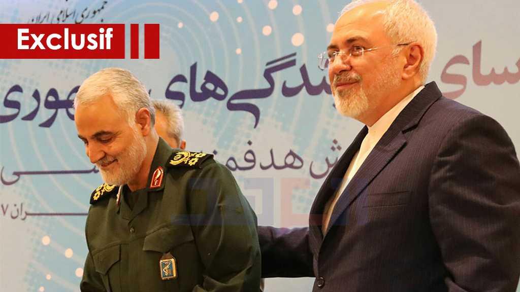 Zarif à AlAhed: le martyr Soleimani représentait la position de la République islamique dans la région