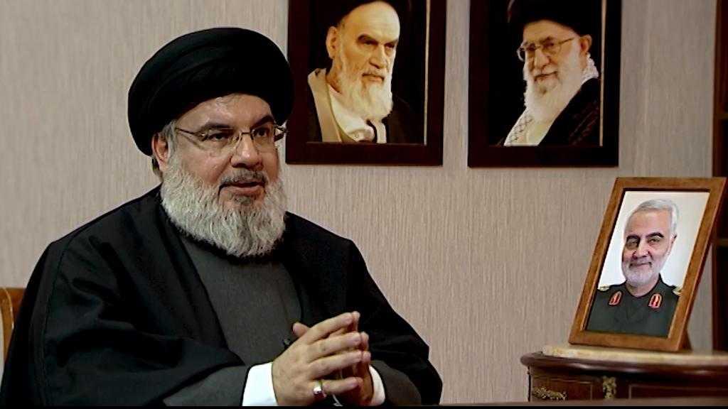S.Nasrallah: 'Avec le martyre de haj Qassem Soleimani, c'est la renaissance de la nation qui mettra fin au grand Satan US dans la région'.
