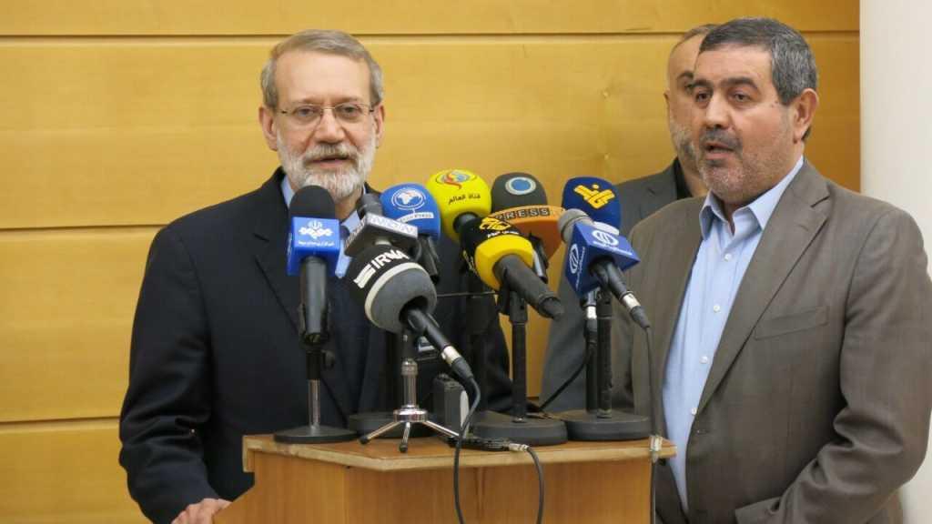 Larijani: L'Iran tient à ce que le Liban soit libre, souverain et indépendant
