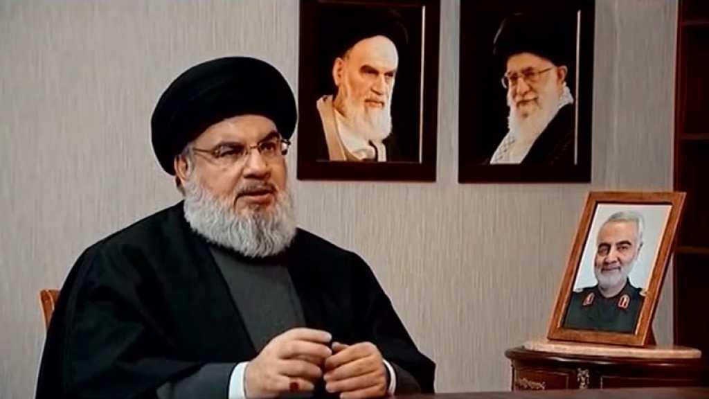 Sayed Nasrallah à l'ange de la mort: Prends-moi et laisse haj Qassem Soleimani