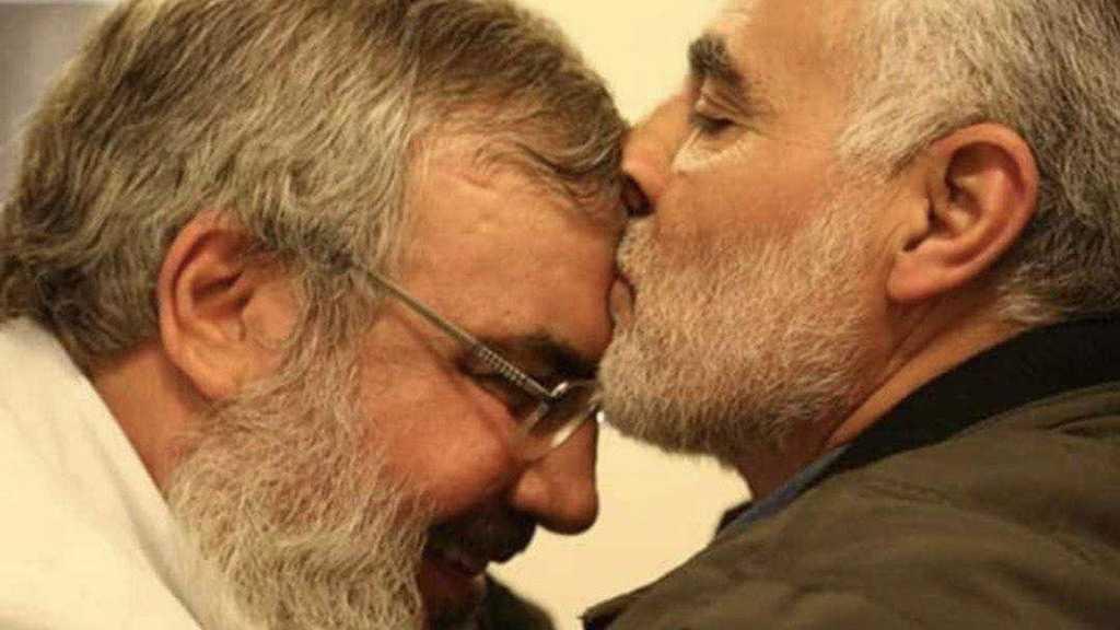 Sayed Nasrallah et le martyr Soleimani, deux frères intimes, refuge l'un à l'autre