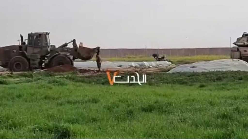 Nouveau crime odieux à Gaza: «Israël» tue un Palestinien, traine son corps par un char