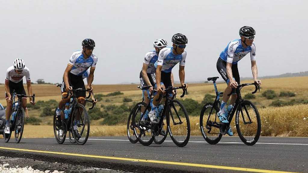 L'équipe de cyclisme israélienne participe pour la 1ère fois au Tour des Émirats
