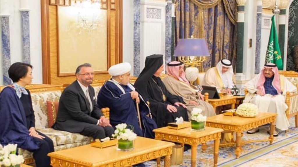 Salmane Ben Abdel Aziz reçoit un rabbin israélien au palais royal