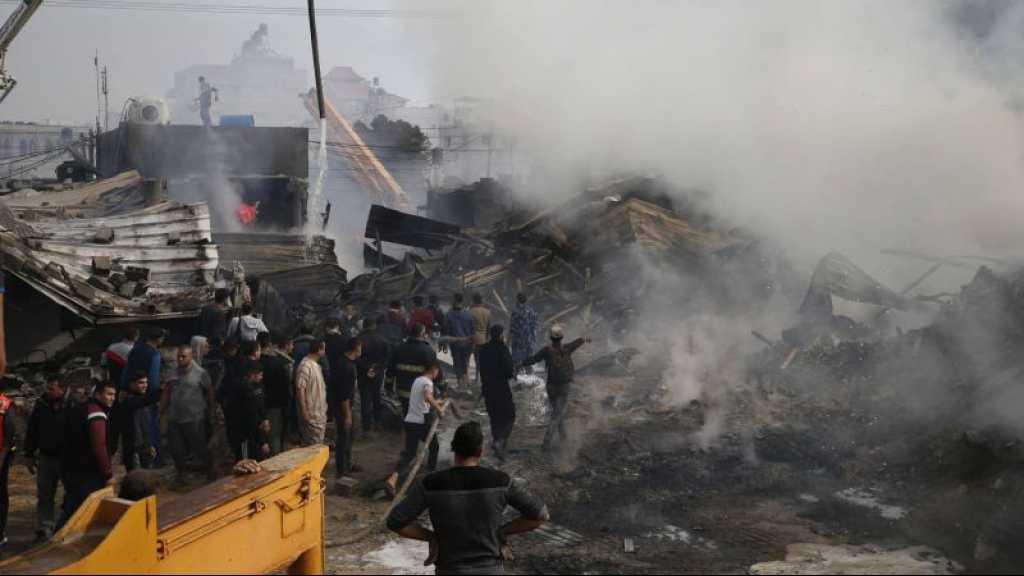 Gaza: neuf morts, plus de 85 blessés dans un incendie