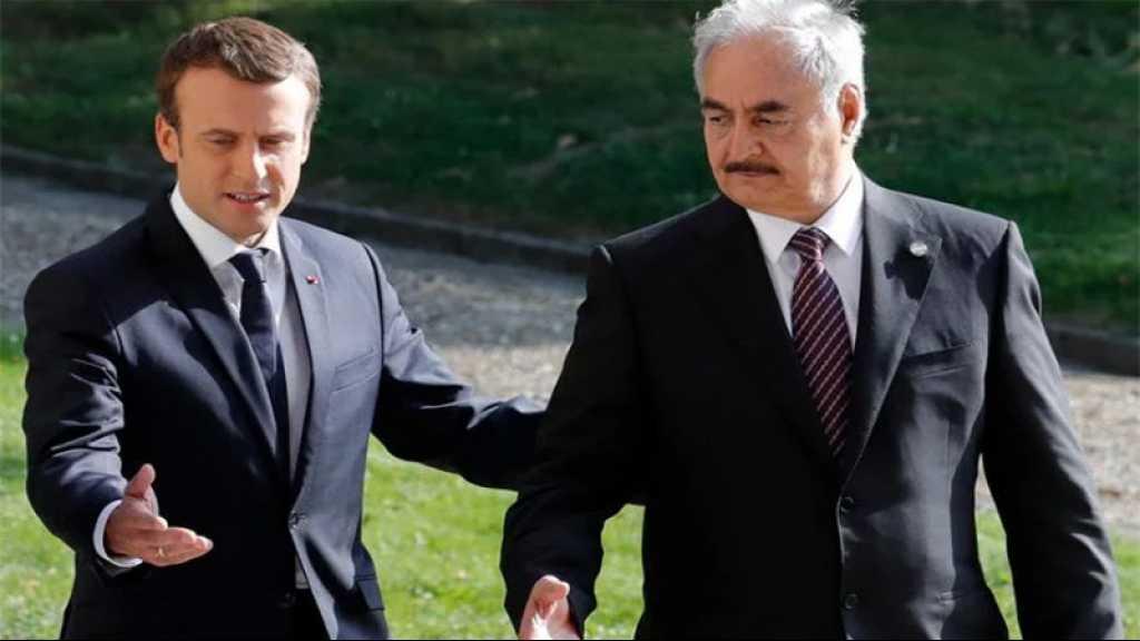 Libye: Macron a reçu le maréchal Haftar, qui s'engage sur le cessez-le-feu