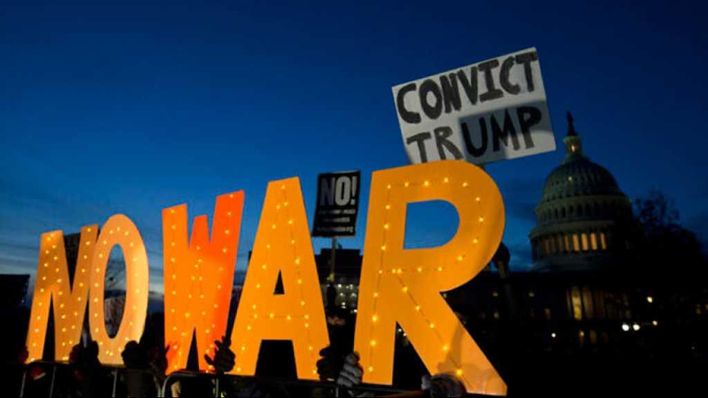 Le Congrès américain bride l'action militaire de Trump contre l'Iran