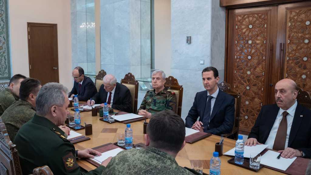 Le président al-Assad reçoit Choïgou: les accords russo-turcs sur la table