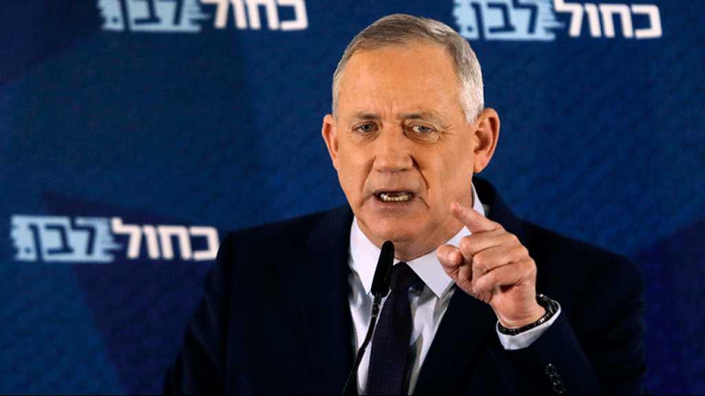 Benny Gantz: En cas de 4ème élection, Benyamin Netanyahou sera à blâmer