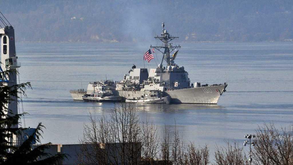 Coronavirus: après le porte-avion US, 18 marins testés positifs sur un destroyer de l'US Navy