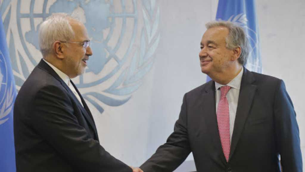 Zarif et Guterres appellent à l'envoi d'aide humanitaire au Yémen
