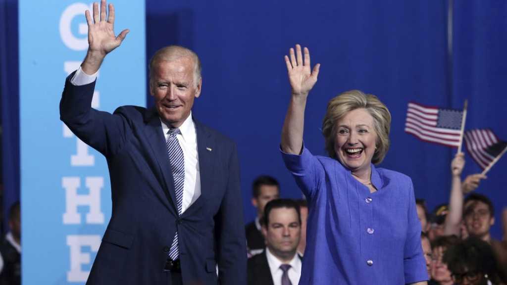 Présidentielle américaine: Hillary Clinton soutient Joe Biden
