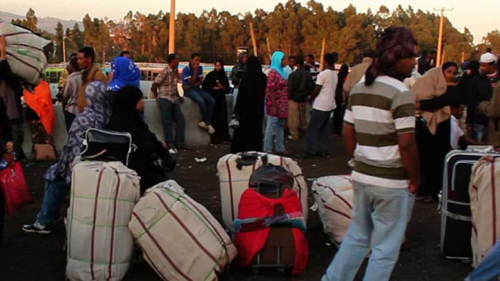 Des milliers de migrants éthiopiens mis en quarantaine dans les universités attendent de rentrer chez eux