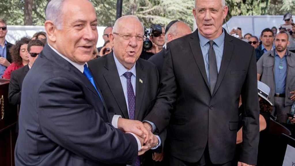 Entité israélienne: B. Gantz et B. Netanyahou prêteront serment mercredi prochain