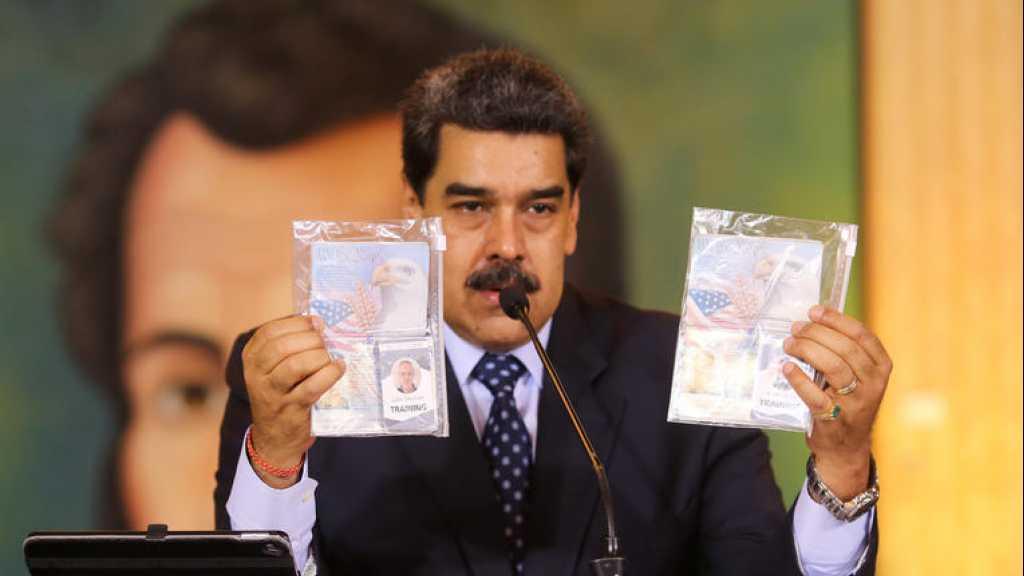 Venezuela: l'opposition aurait négocié avec une firme US pour chasser Maduro