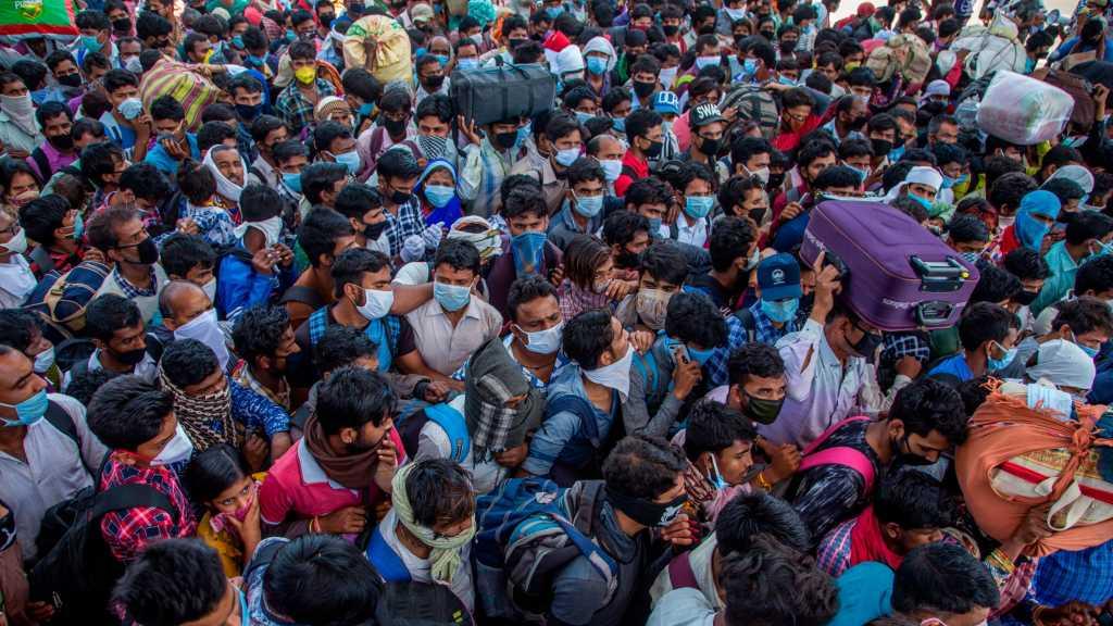 Coronavirus en Inde: la capitale économique du pays frappée de plein fouet