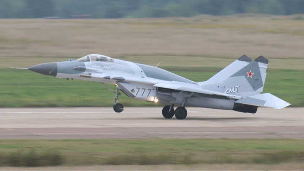 La Russie a livré des avions de chasse MiG-29 à la Syrie